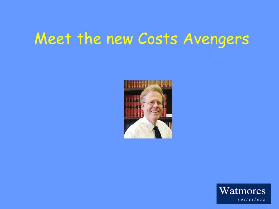 Meet the new Costs Avengers
