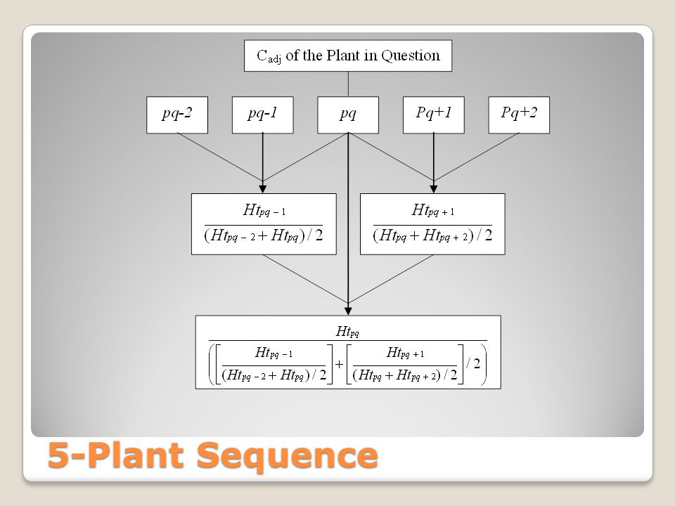 5-Plant Sequence