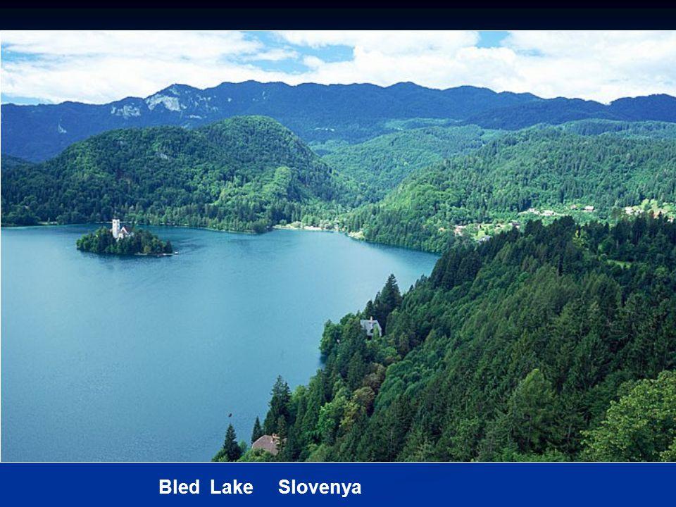 Bled Lake Slovenya