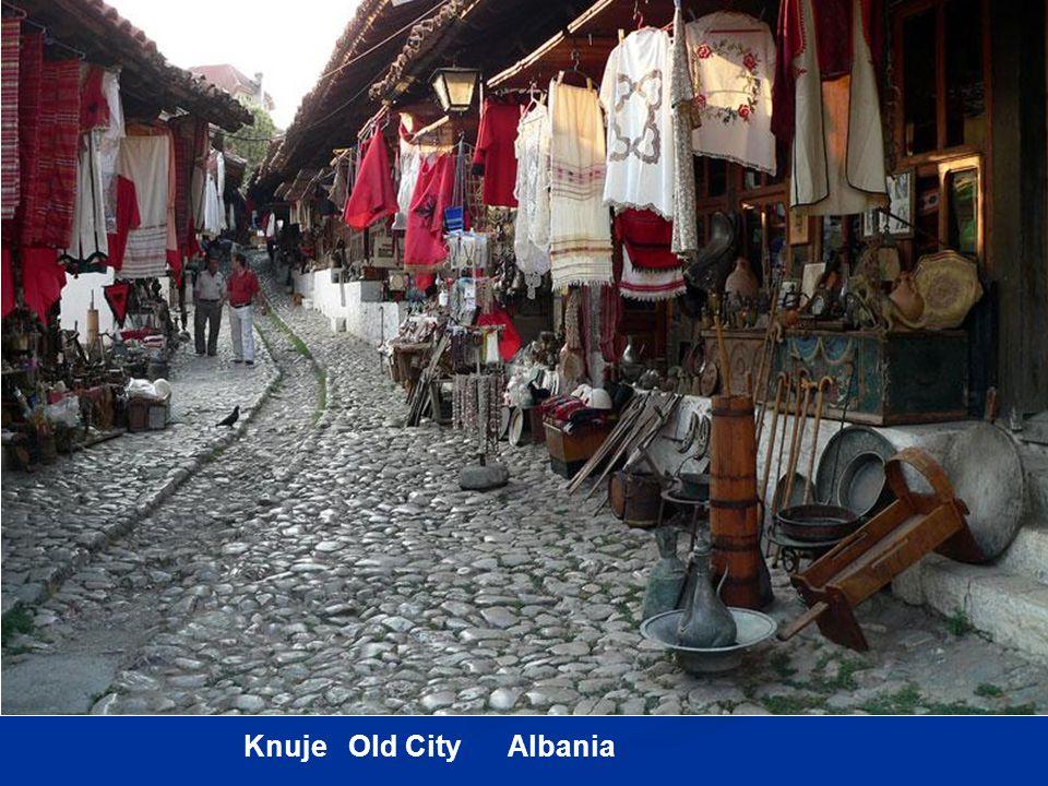 Knuje Old City Albania