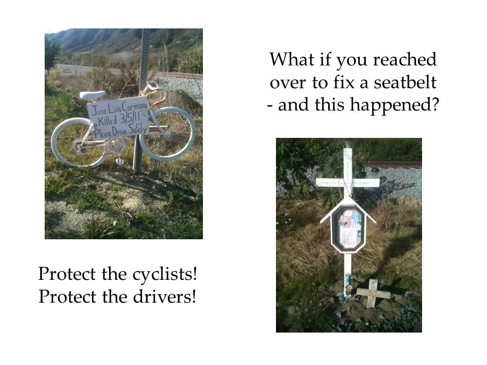Ghost Bike and shrine for Manuel Santizo 1982-2011 A community mourns.