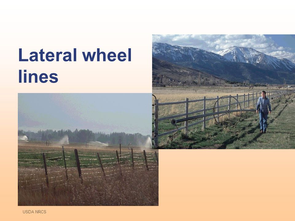 Lateral wheel lines USDA NRCS