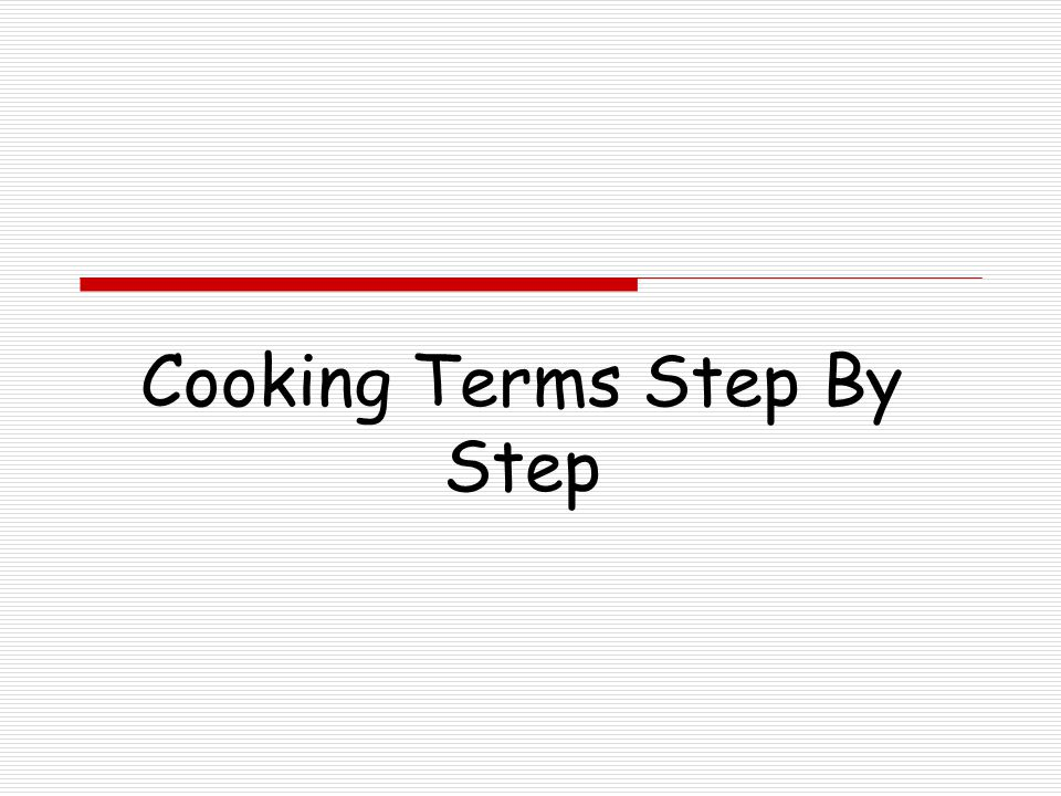 To Boil  Put ingredients into the saucepan or pot  Turn the heat on under the saucepan to a high temperature  Stir the ingredients as needed  Watch the ingredients for steam to form  Continue heating until bubbles form and rise to the top and burst or pop