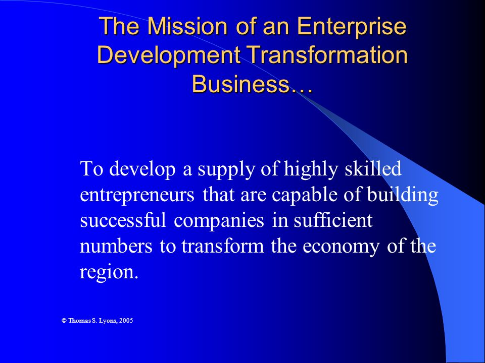 The ELS benefits entrepreneurs by providing: A map to know what fundamentals of success to focus on and when (i.e., way of setting priorities and managing time) A structure of support and disciplined performance A set of reference points by which to benchmark their performance and to expand their vision about other possibilities Financial and technical assistance that is integrated and customized according to level of skill A way of developing skills and a ladder of progression