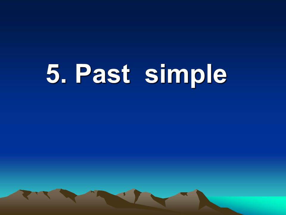 4. Present Perfect Continuous