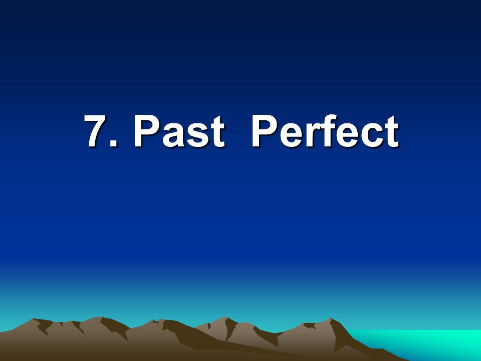 6. Past Continuous