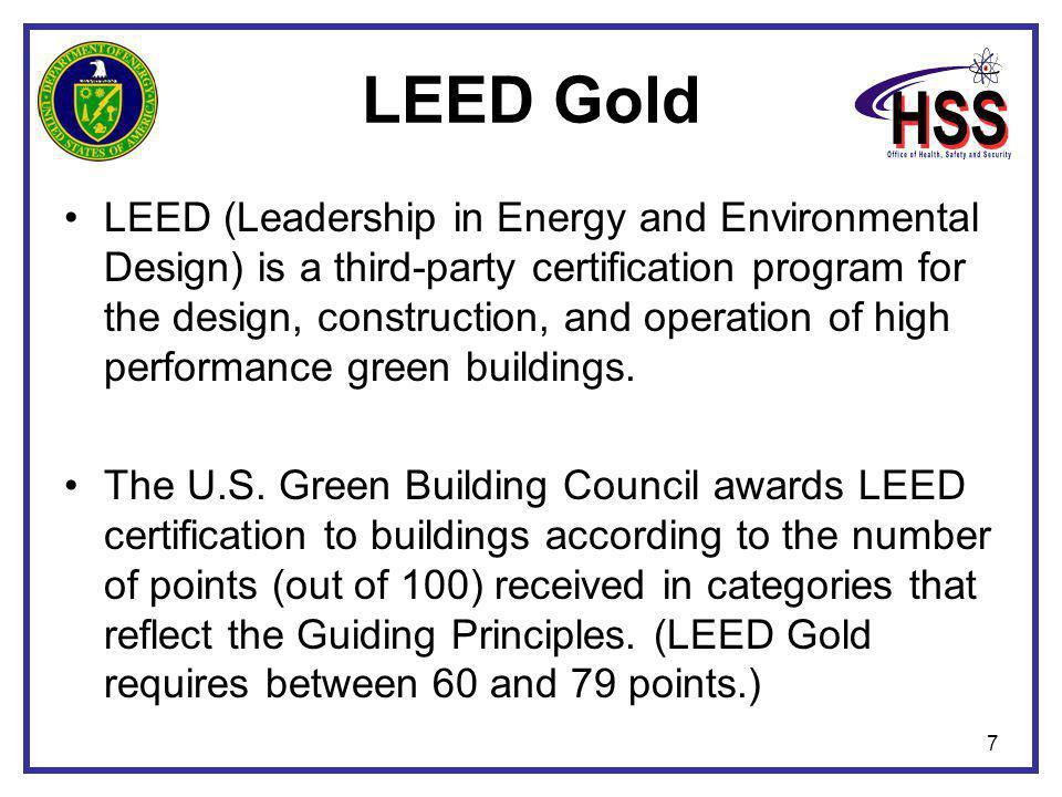 38 DOE 2009 Environmental Stewardship Scorecard