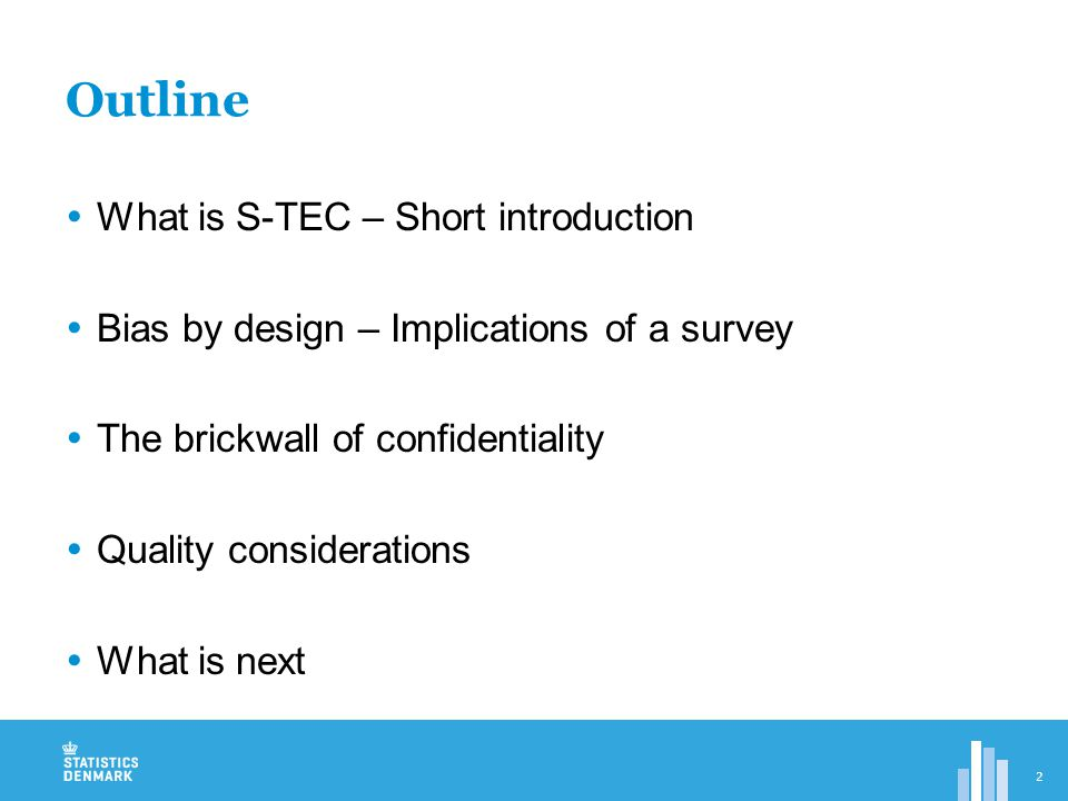  Overview of the confidentiality issues for the template S-TEC tables The brickwall of confidentiality 13