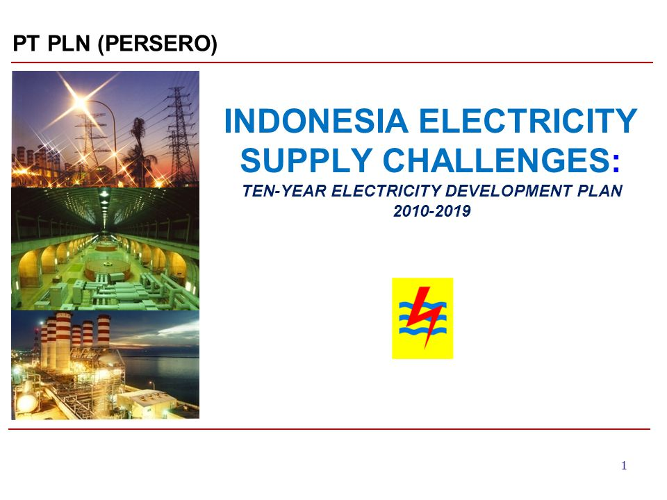 22 ELECTRICITY DEMAND FORECAST 2010-2019 1.The electricity demand growth estimated average 9.3% per year (Jawa-Bali 8.97%, West Indonesia 10.2% and East Indonesia 10.6%) 2.The electricity sales from year 2010 onwards is forecasted by assuming an average economic growth of 6.2% and an average population growth of 1.17%.