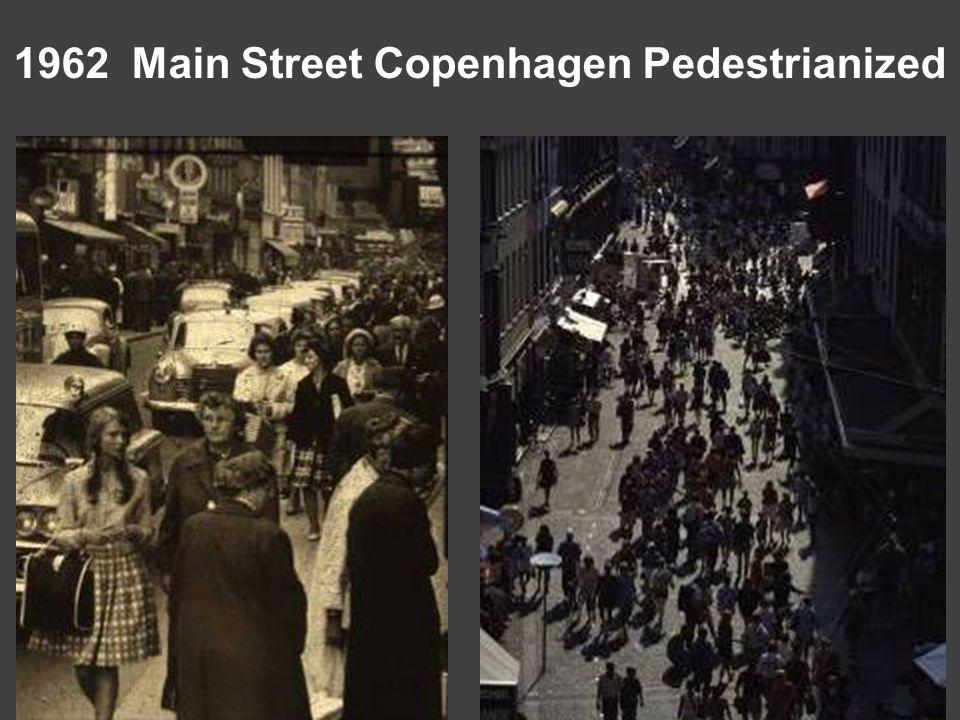1962 Main Street Copenhagen Pedestrianized
