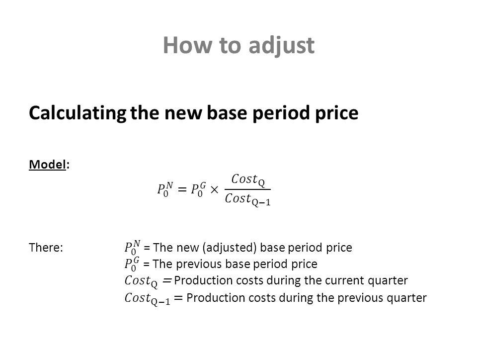 How to adjust