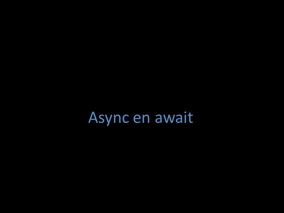 Async en await