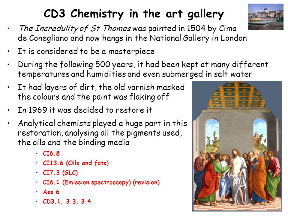 CD4 At the start of the rainbow 19 th century – many new pigments and dyes were developed This was closely linked to the developments in organic chemistry –CI12.3 + 12.4 Arene Chemistry –CD4.1 + 4.2 In 1856 William Perkin – tried to make quinine… …in his lab at home… …at the age of 18 !.