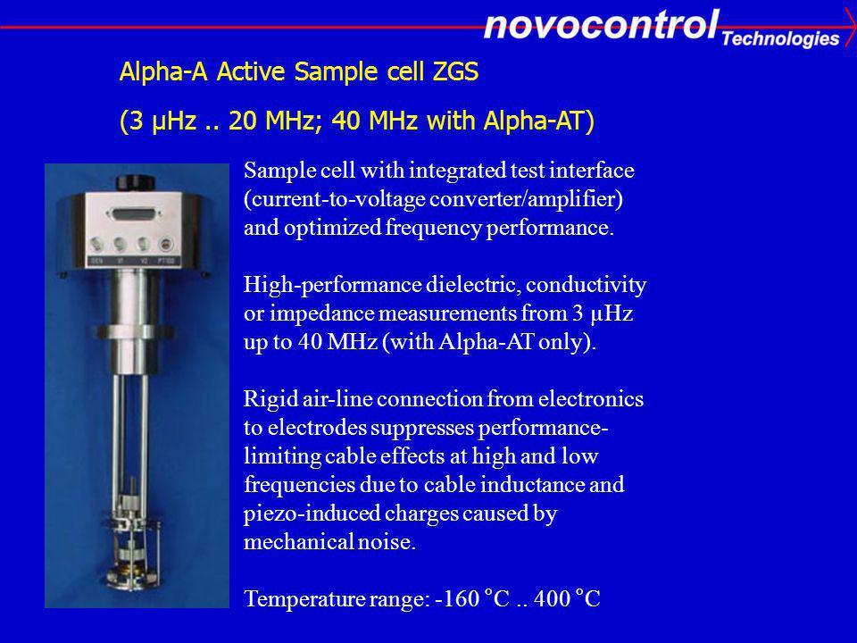 Alpha-A Active Sample cell ZGS (3 µHz..