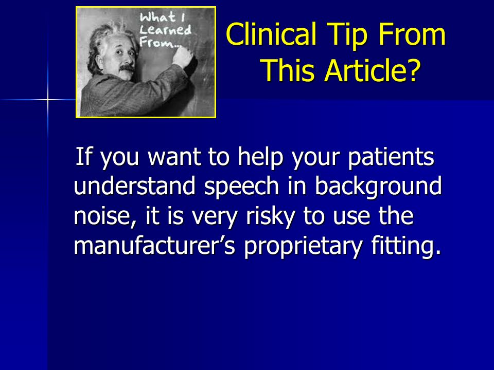 Clinical Tip From This Article.