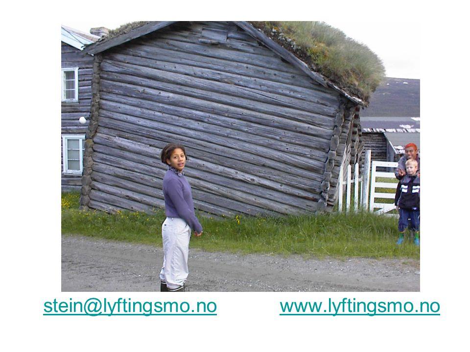 stein@lyftingsmo.no www.lyftingsmo.nostein@lyftingsmo.nowww.lyftingsmo.no