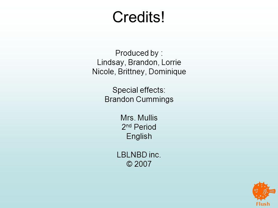 Flush Credits.