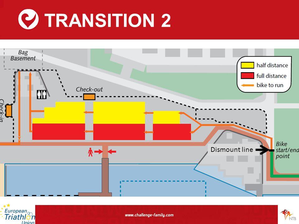 TRANSITION 2 Dismount line