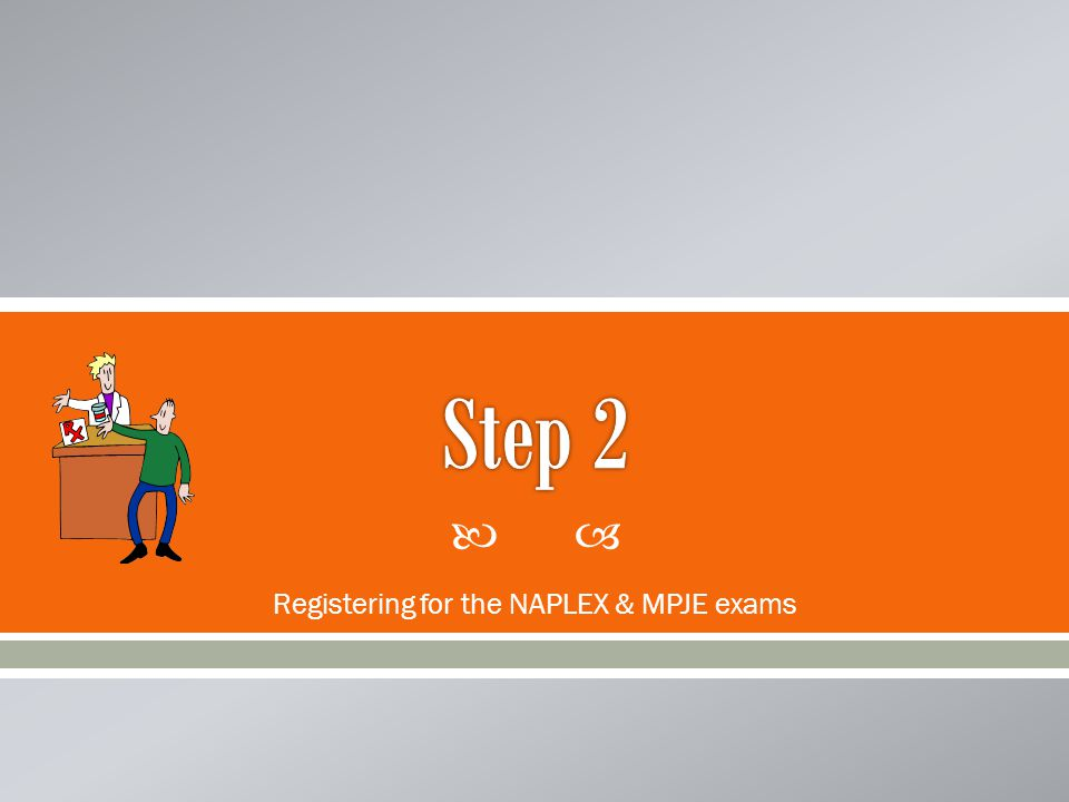  Apply for the NAPLEX and MPJE exams through NABP's website.