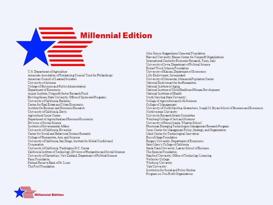 Millennial Edition U.S.