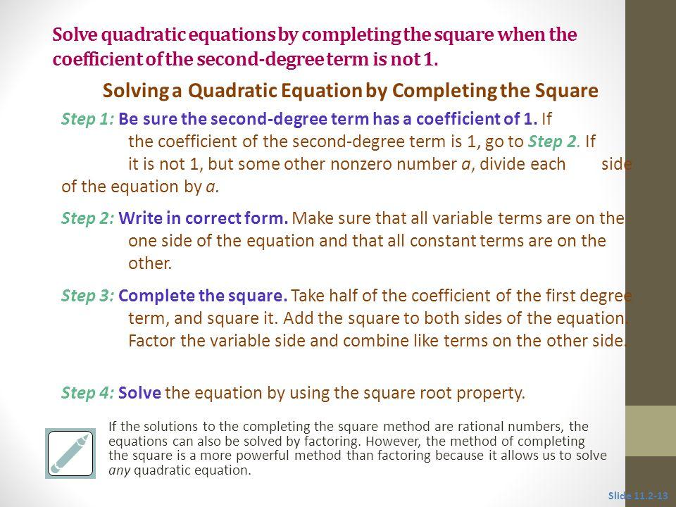 Solution: Solve 4x 2 + 8x -21 = 0.