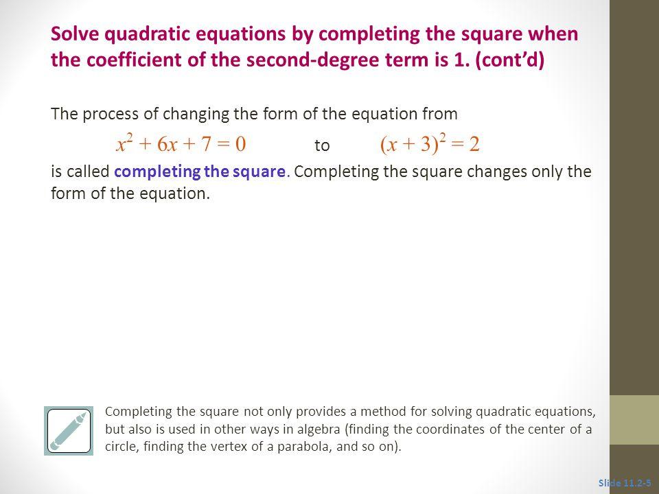 Solve x 2 – 20x + 34 = 0.