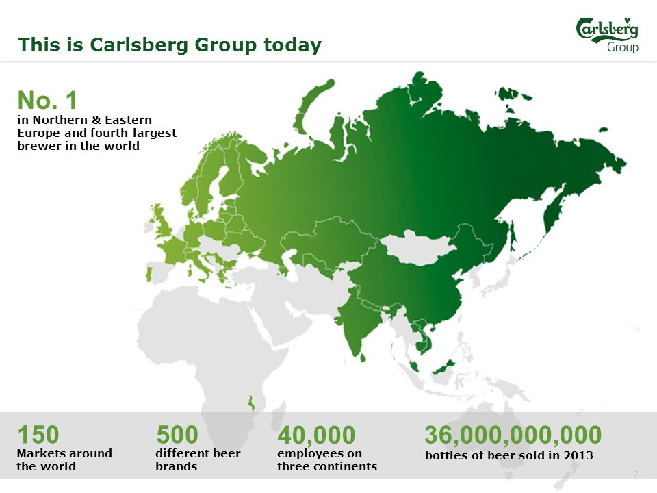 2 This is Carlsberg Group today No.