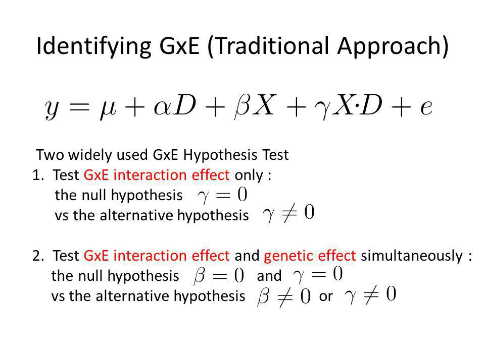 Heterogeneity in GWAS Causes: – Different populations Same effects, different LD ✗ Different effects due to GxG ✗ – Different phenotypic definitions (different cutoffs) ✗ – Different environmental factors (GxE) ✗ – Different usage of covariates ✗ – Different genetic structure (cross-disease) ✗ – Different imputation quality ✗ Does heterogeneity exist under the null.