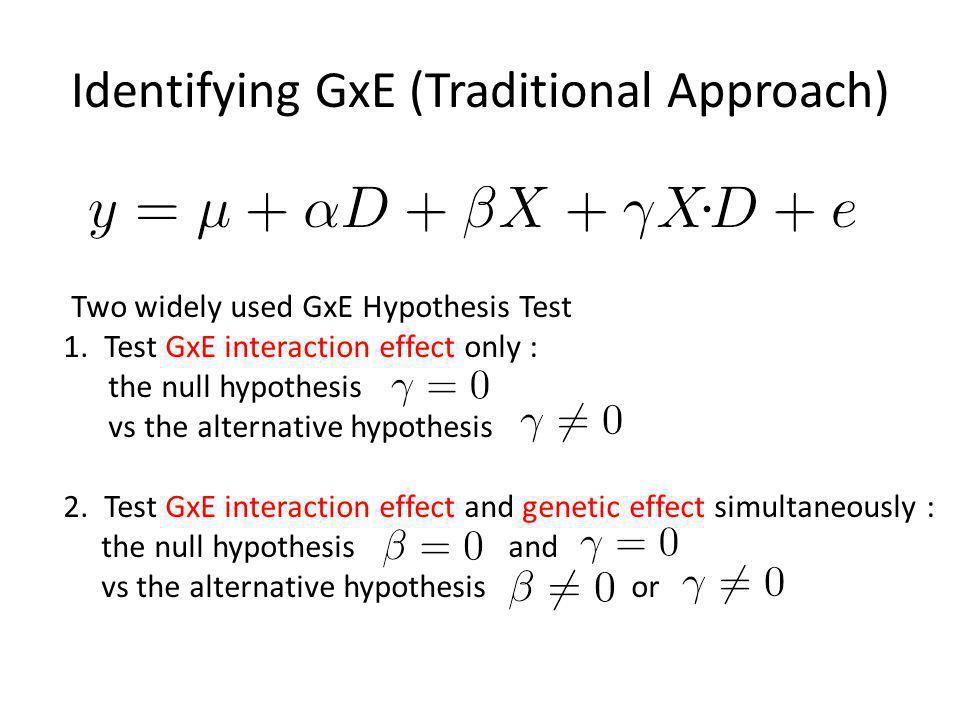 Random Effect Meta Analysis Suppose we have n studies to combine assume that Study 1 Study 2 Study n Env 1 Env 2 Env n