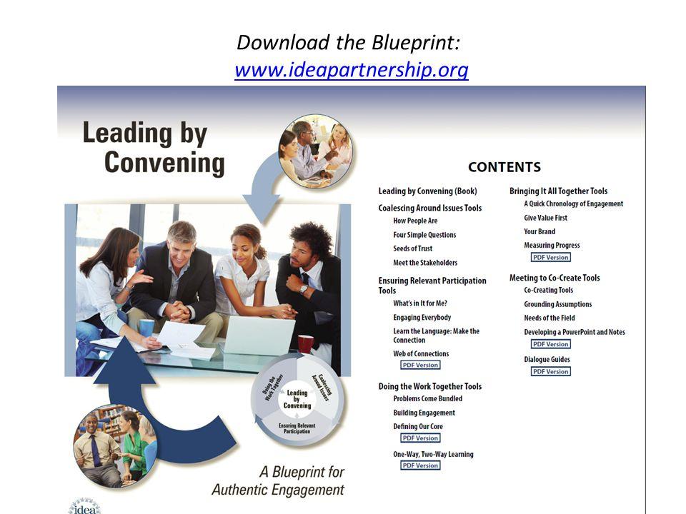 Download the Blueprint: www.ideapartnership.orgwww.ideapartnership.org