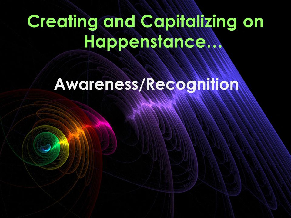 Awareness/Recognition