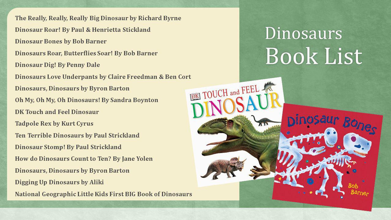 The Really, Really, Really Big Dinosaur by Richard Byrne Dinosaur Roar.