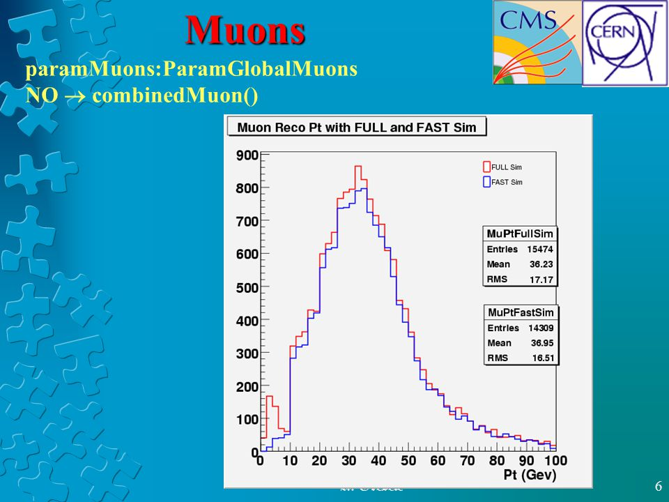 A. Gresele6 Muons paramMuons:ParamGlobalMuons NO  combinedMuon()