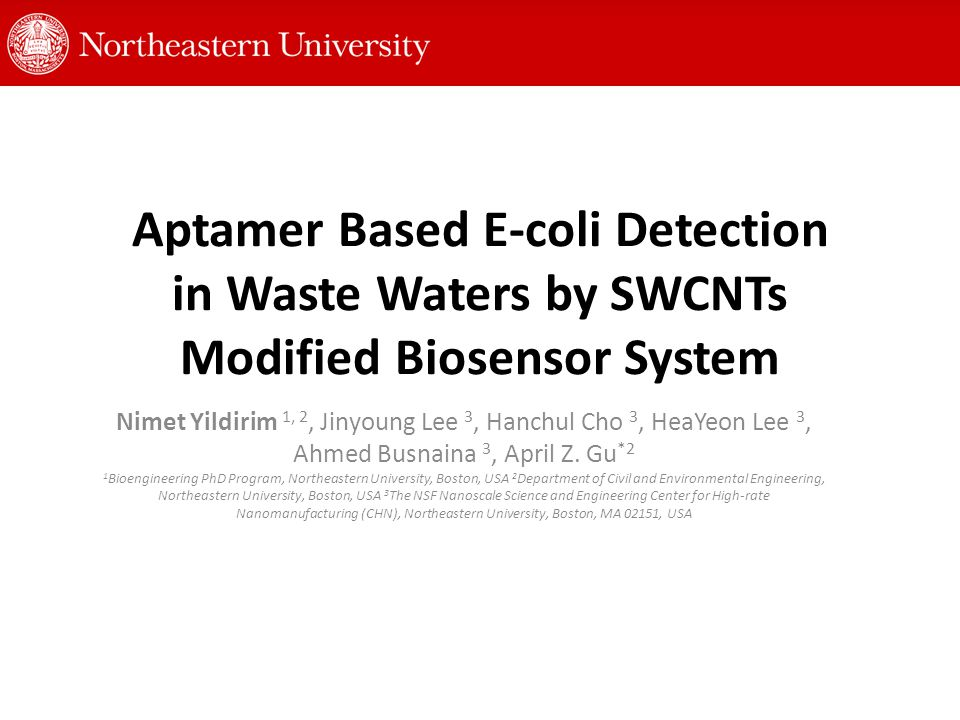 Regeneration and Sensor Stability The sensor system is stable over 80 % with E-coli detection in30 days period.