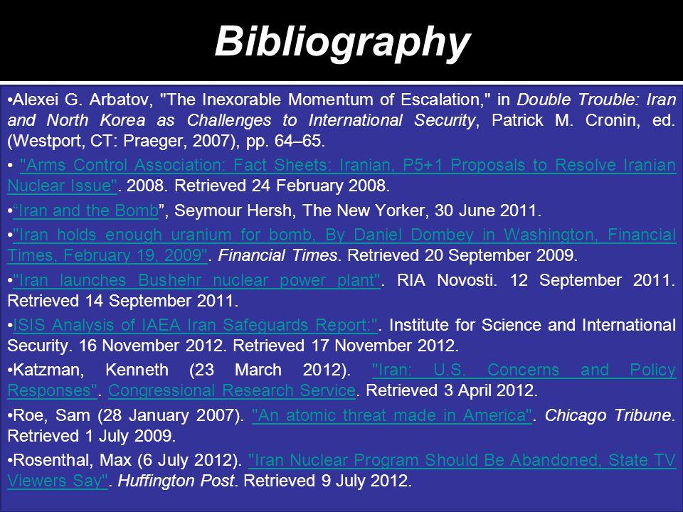 Bibliography Alexei G.