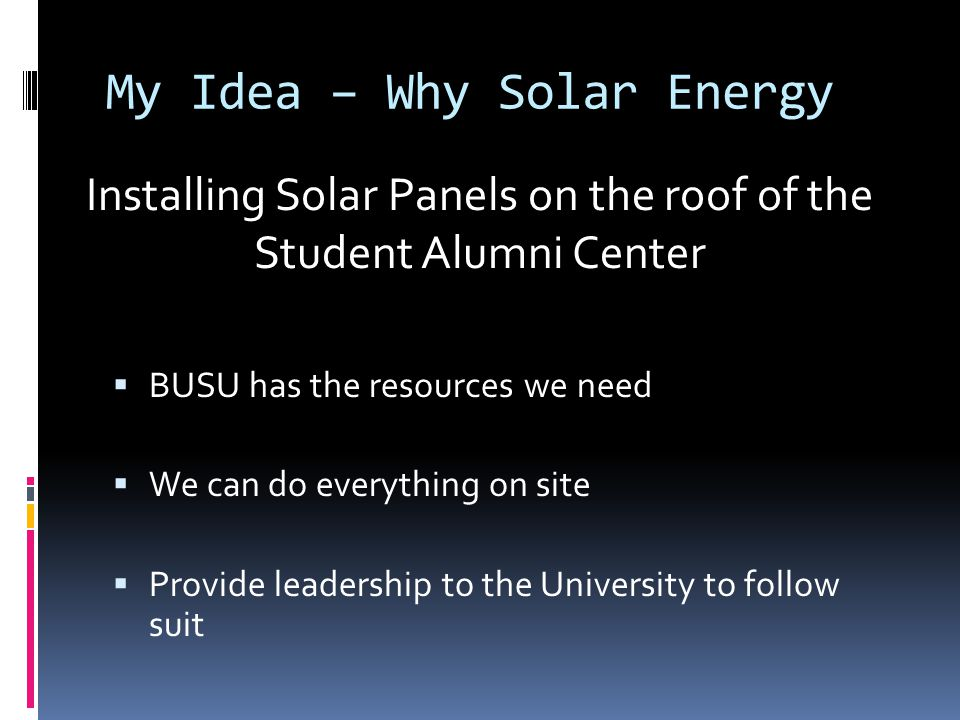 Solar Energy – Isn't That Expensive. Yes  …BUT.