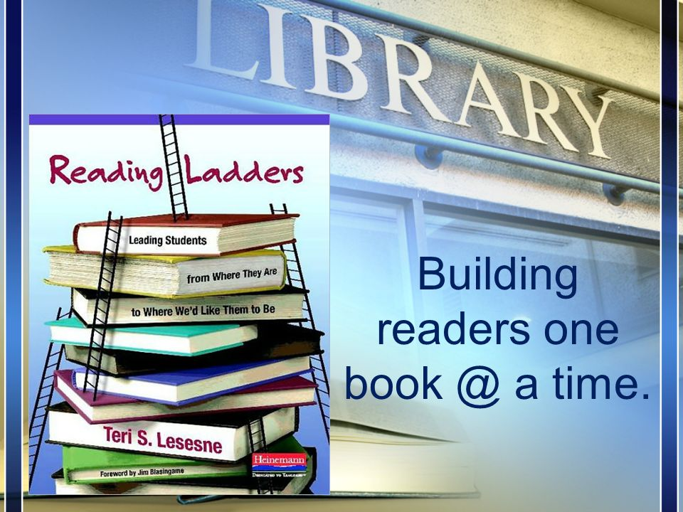 Building readers one book @ a time.