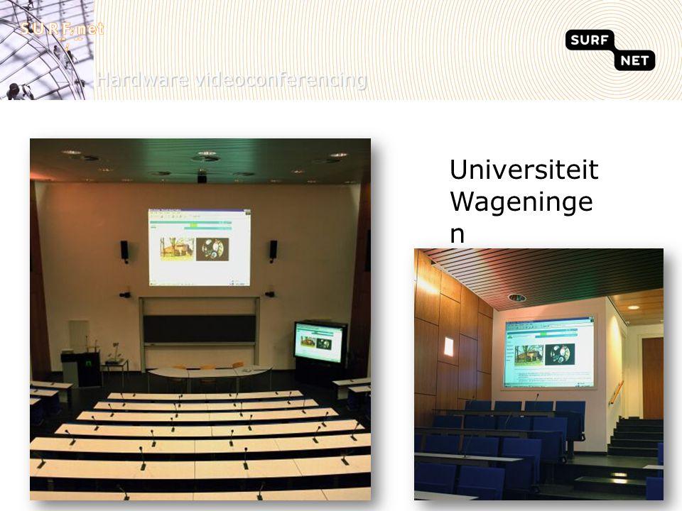 Hardware videoconferencing Universiteit Wageninge n