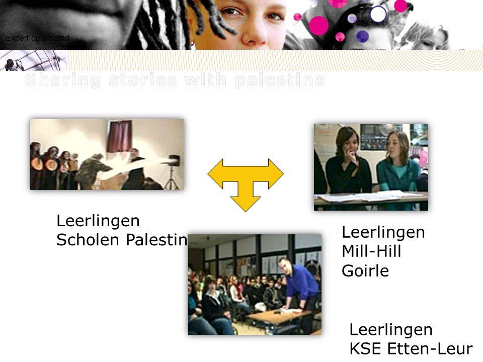 Leerlingen KSE Etten-Leur Leerlingen Mill-Hill Goirle Leerlingen Scholen Palestina Expert op afstand