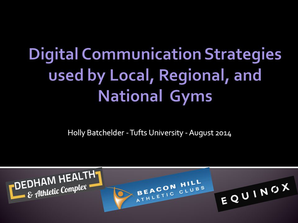 Holly Batchelder - Tufts University - August 2014