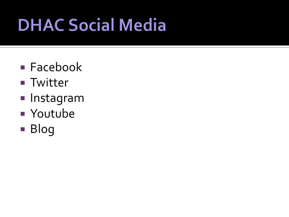  Facebook  Twitter  Instagram  Youtube  Blog