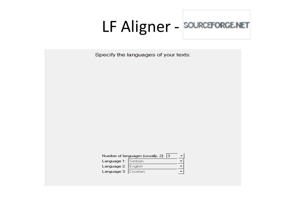 LF Aligner -