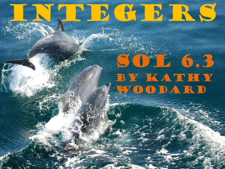Integers SOL 6.3 by Kathy Woodard