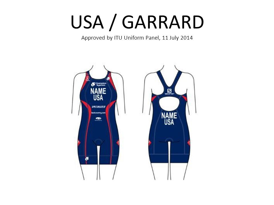 USA / GARRARD Approved by ITU Uniform Panel, 11 July 2014