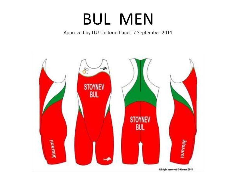 BUL MEN Approved by ITU Uniform Panel, 7 September 2011
