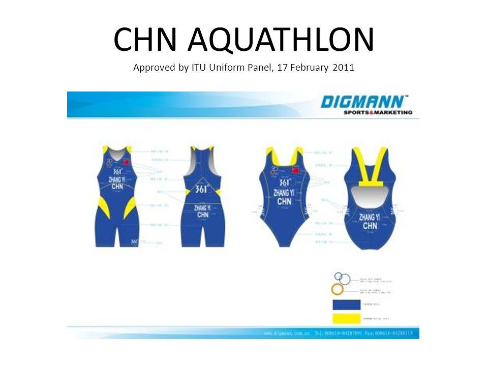 CHN AQUATHLON Approved by ITU Uniform Panel, 17 February 2011