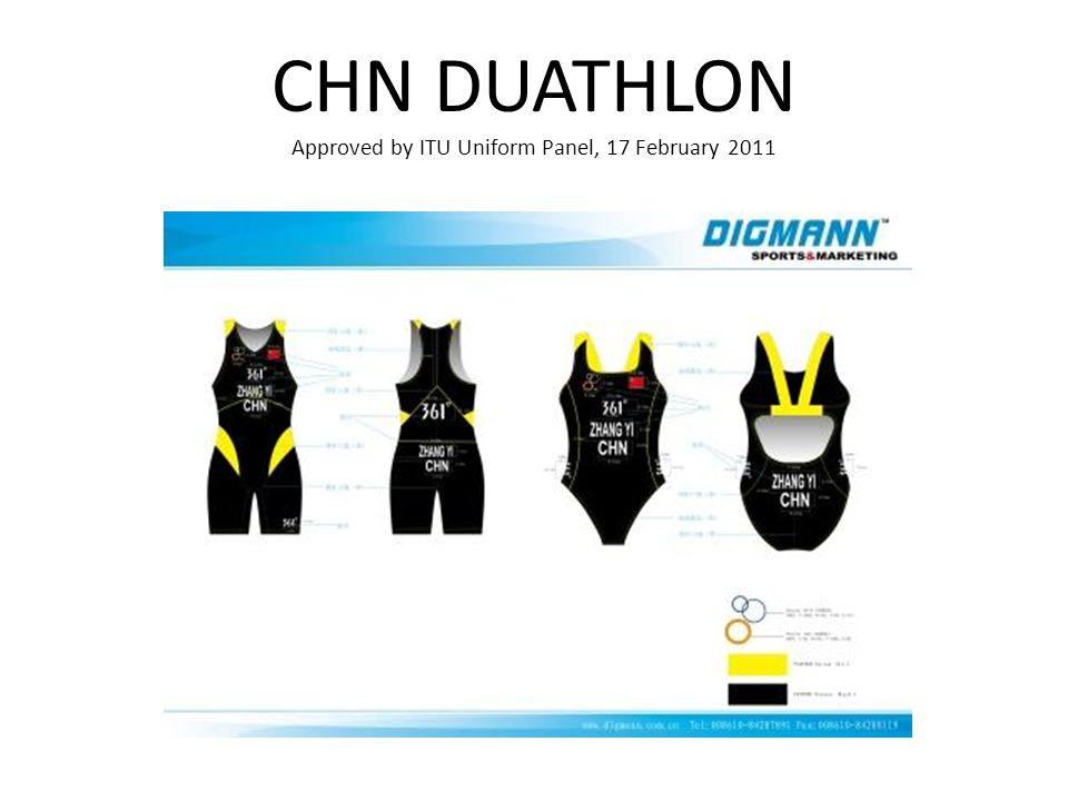 CHN DUATHLON Approved by ITU Uniform Panel, 17 February 2011