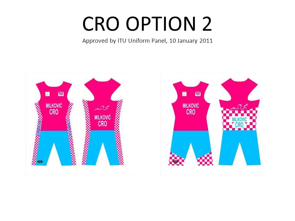 CRO OPTION 2 Approved by ITU Uniform Panel, 10 January 2011