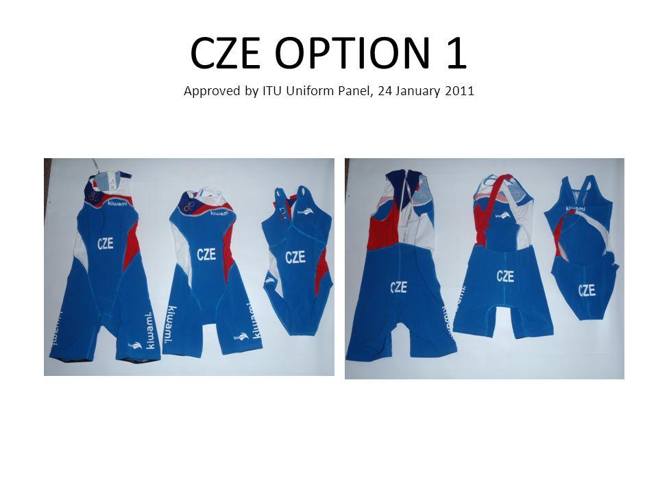 CZE OPTION 1 Approved by ITU Uniform Panel, 24 January 2011