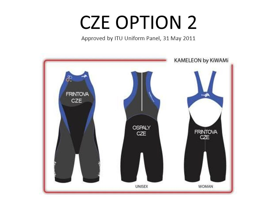 CZE OPTION 2 Approved by ITU Uniform Panel, 31 May 2011